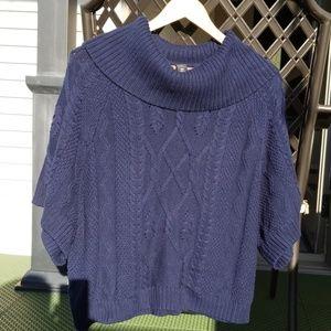 Loft SS Cowl Neck Sweater
